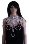Silver Bead Neck Piece